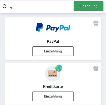 Zahlungsmethoden bei Betano