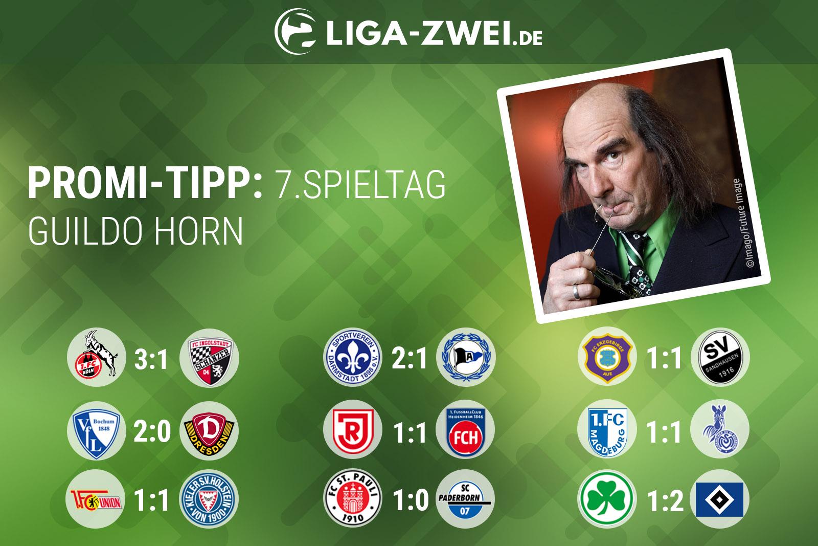 Guildo Horn beim Liga-Zwei.de Promi-Tipp
