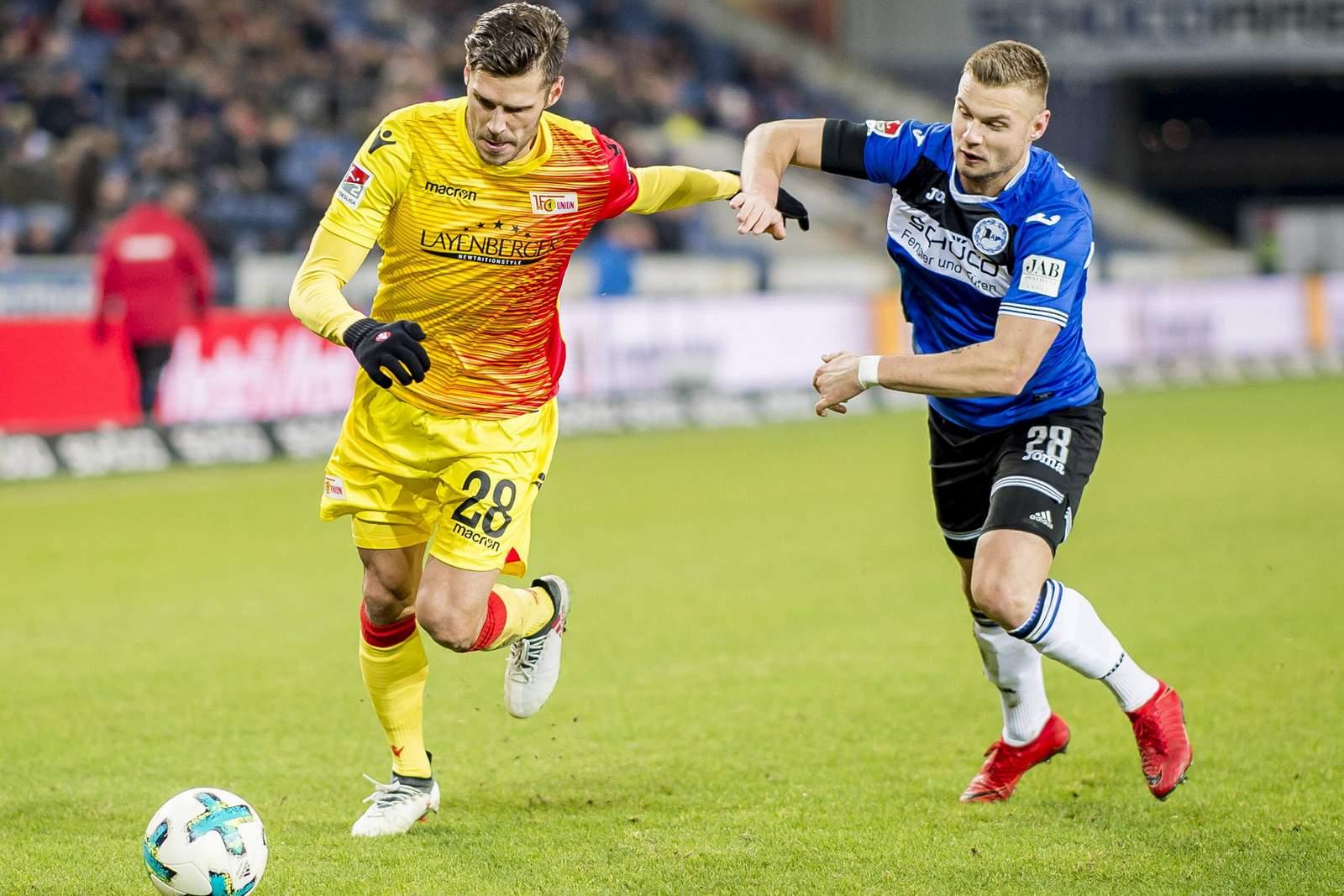 Setzt sich Christopher Trimmel gegen Florian Hartherz durch? Jetzt auf Bielefeld gegen Union wetten.