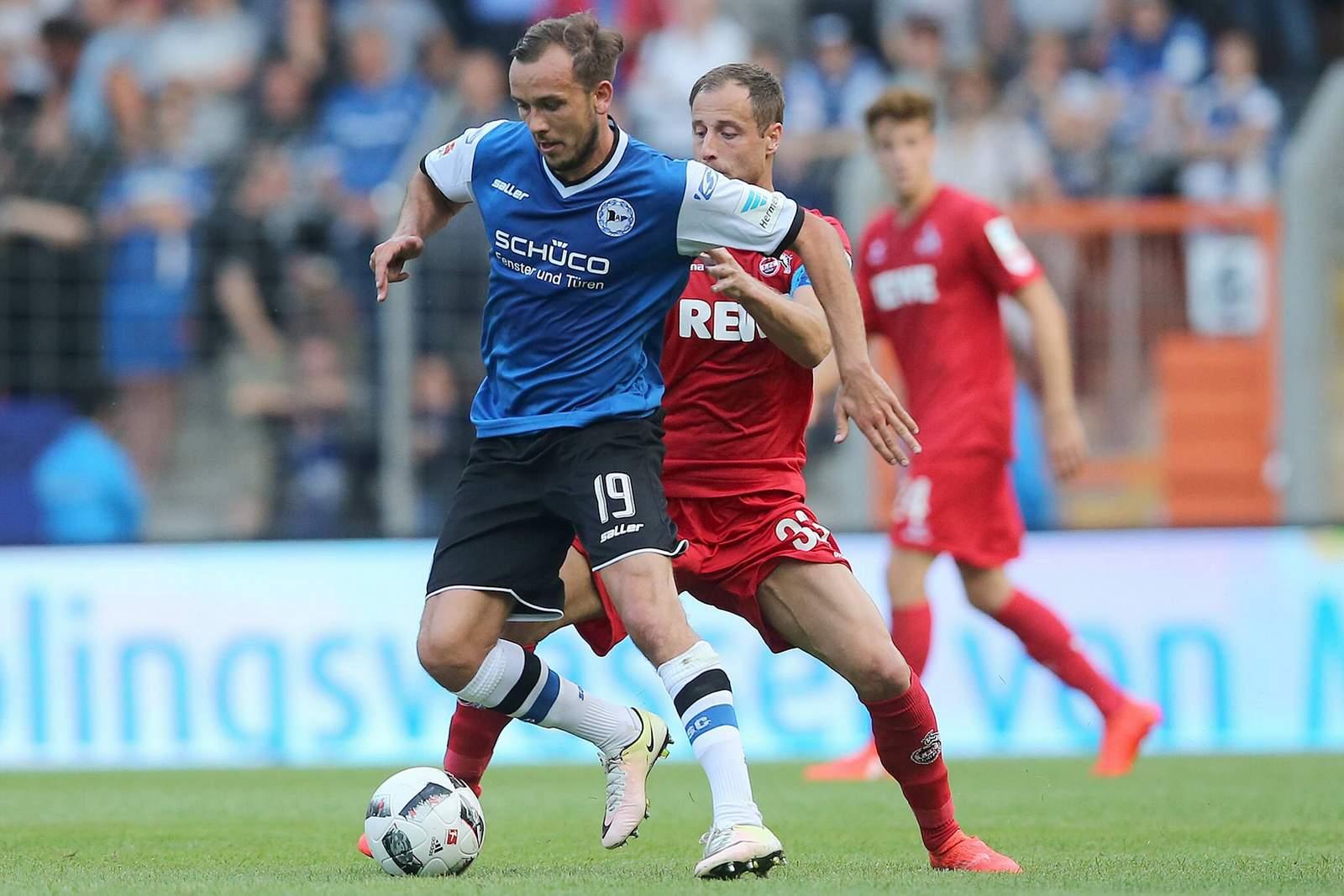 Kann sich Manuel Prietl gegen Matthias Lehmann behaupten? Jetzt auf Bielefeld gegen Köln wetten.