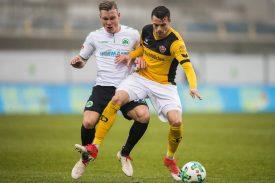 Dynamo Dresden gegen Greuther Fürth