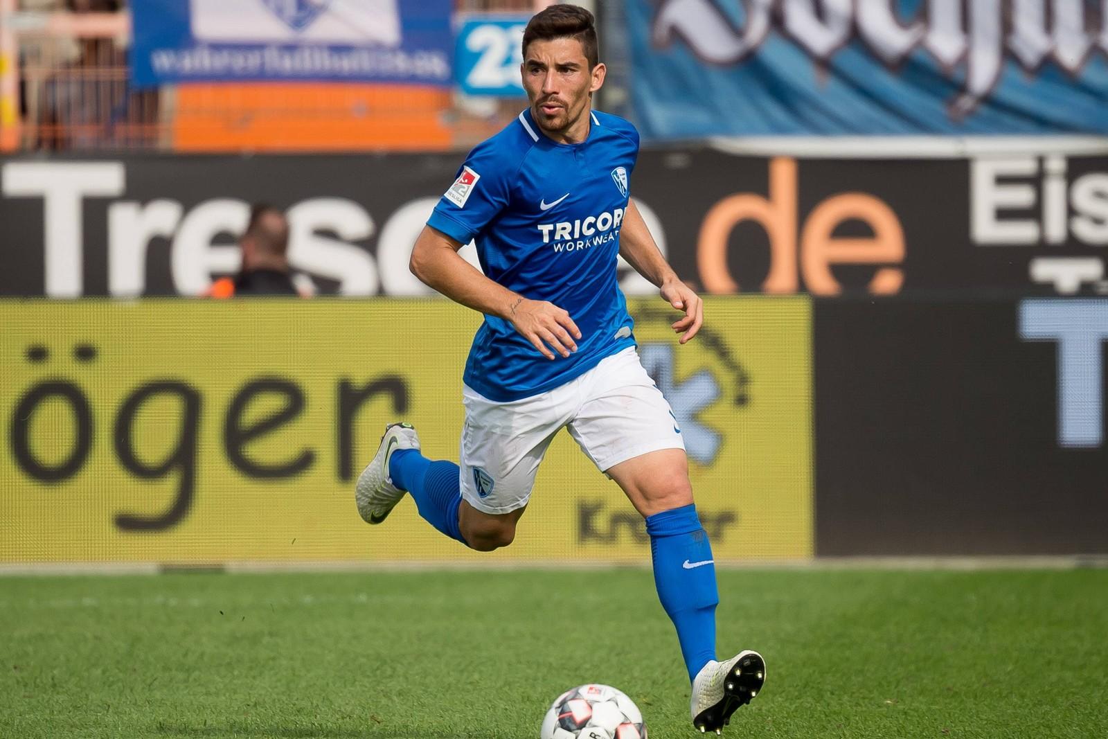 Danilo Soares am Ball für den VfL Bochum