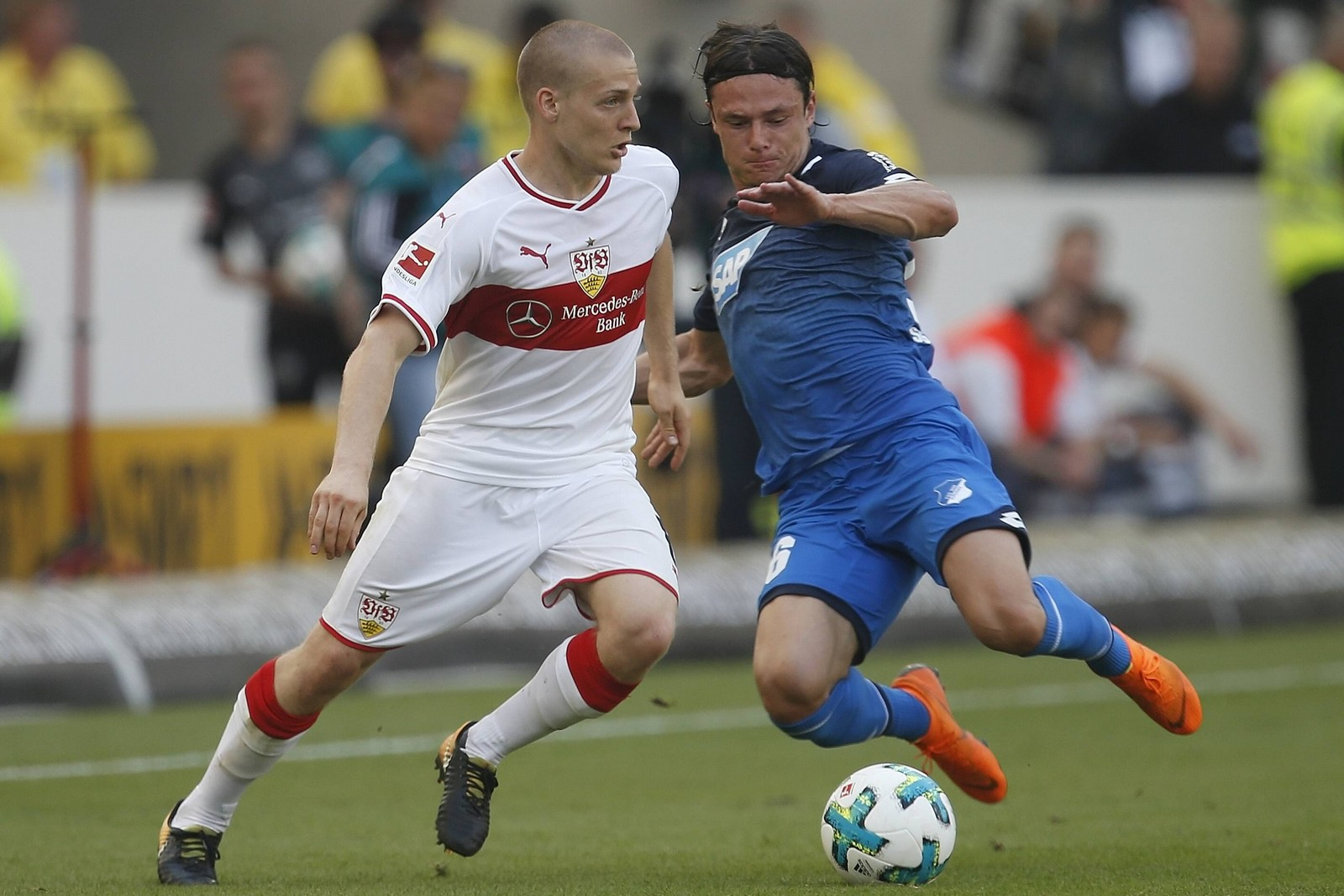 Kann Santiago Ascacibar den VfB zum ersten Sieg unter Weinzierl führen? Jetzt auf Hoffenheim gegen Stuttgart wetten!
