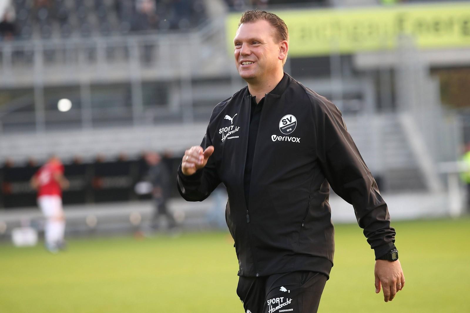 Uwe Koschinat beim SV Sandhausen
