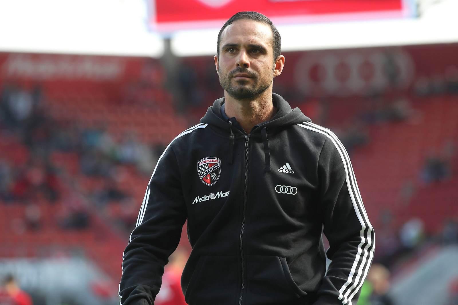 Alexander Nouri als Trainer des FC Ingolstadt