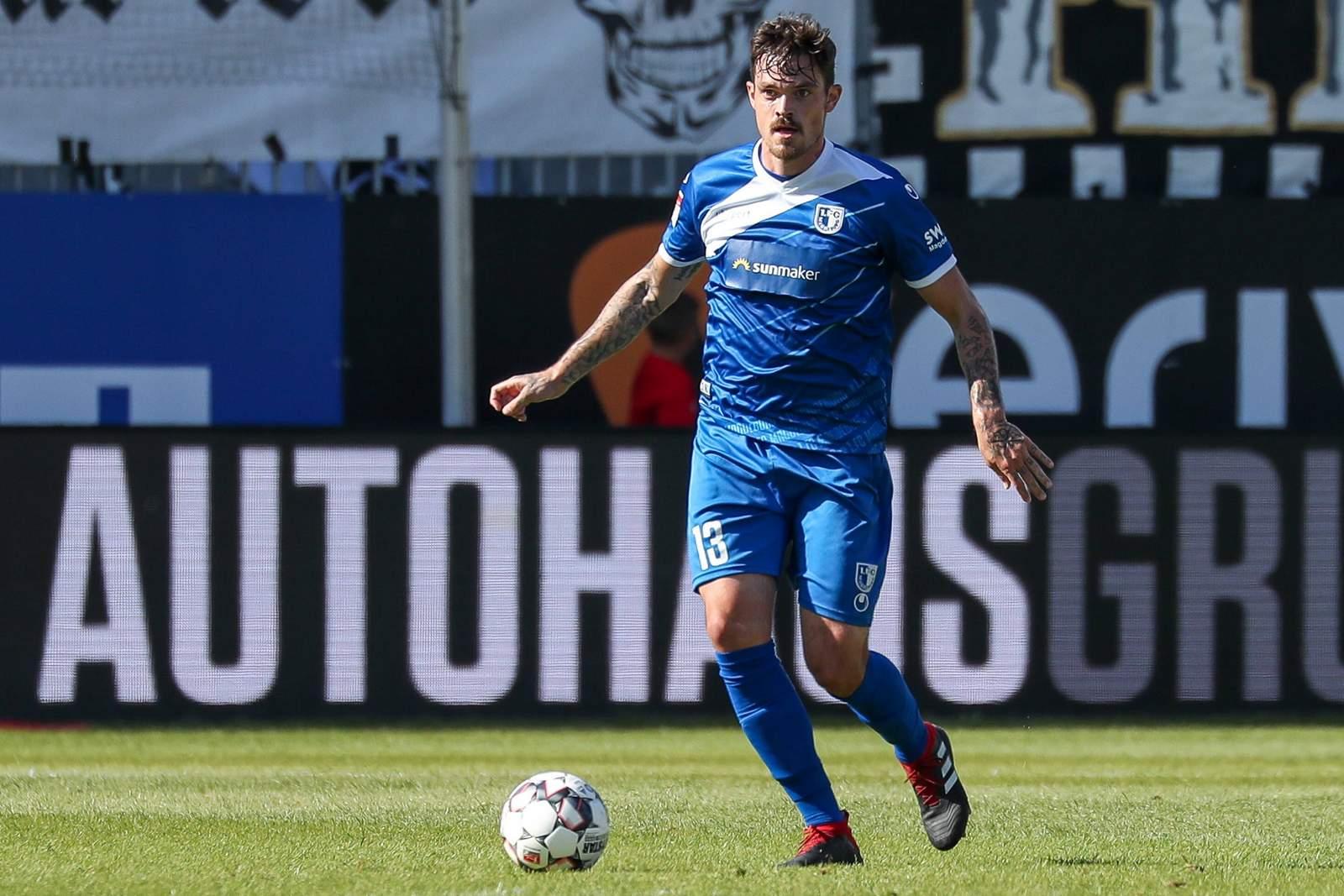 Dennis Erdmann vom 1. FC Magdeburg