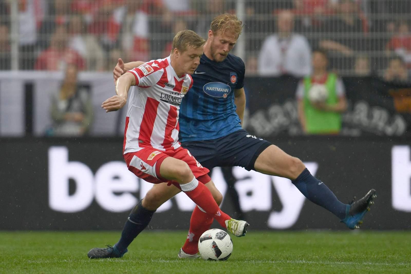 Kann Sebastian Griesbeck Felix Kroos stoppen? Jetzt auf Union Berlin gegen Heidenheim wetten.