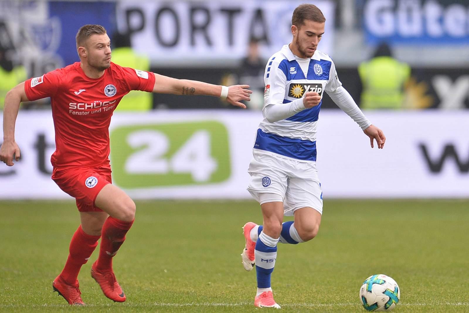 Setzt sich Hartherz gegen Engin durch? Jetzt auf Bielefeld vs Duisburg wetten