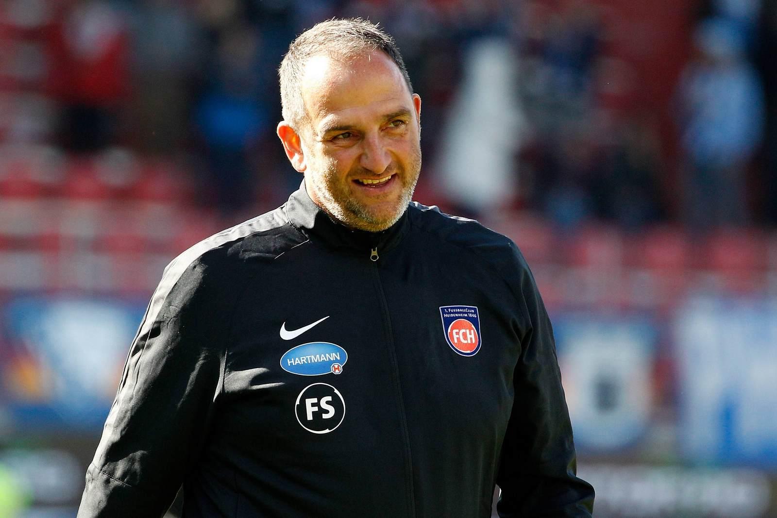 Frank Schmidt vom FC Heidenheim