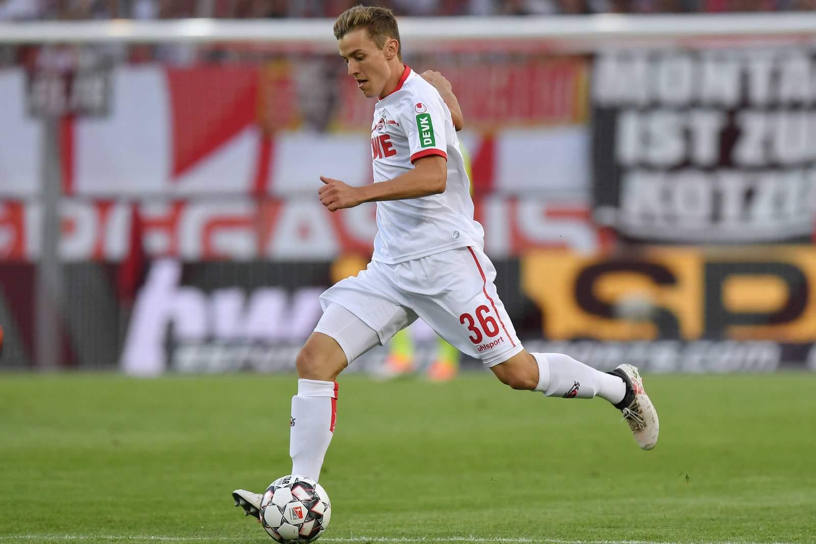 Bejubelt Niklas Hauptmann den dritten Heimsieg? Jetzt auf Köln gegen Heidenheim wetten.