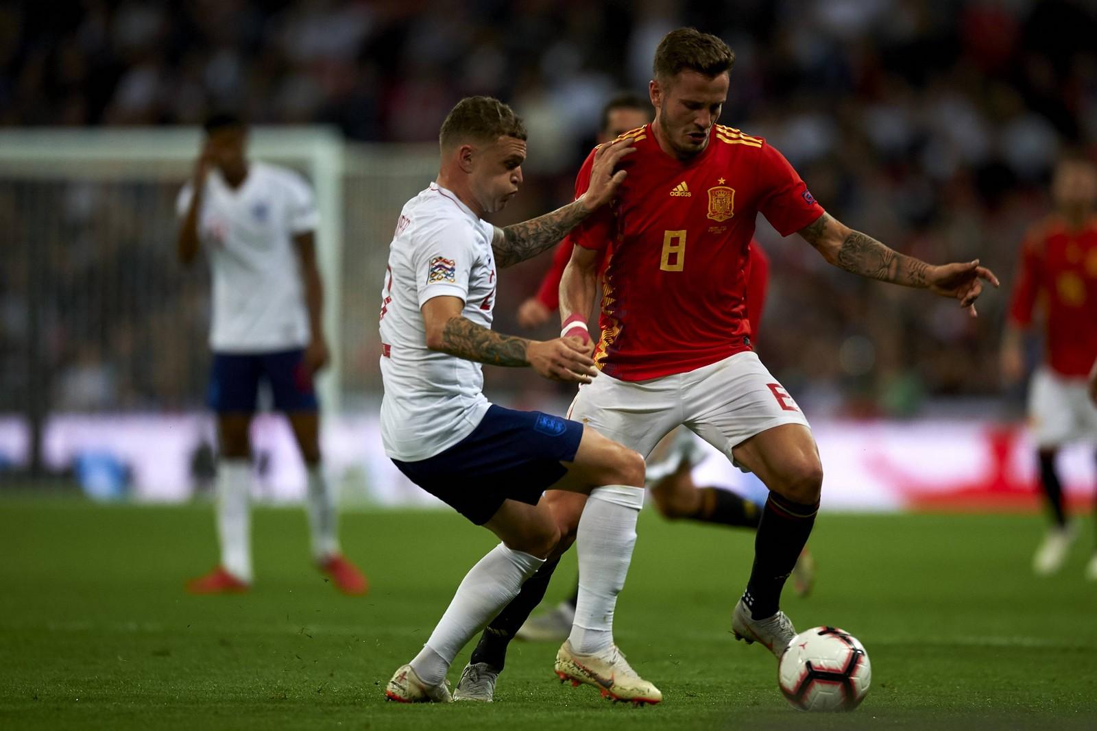 Setzt sich Niguez wieder gegen Tripper durch? Jetzt auf Spanien vs England wetten