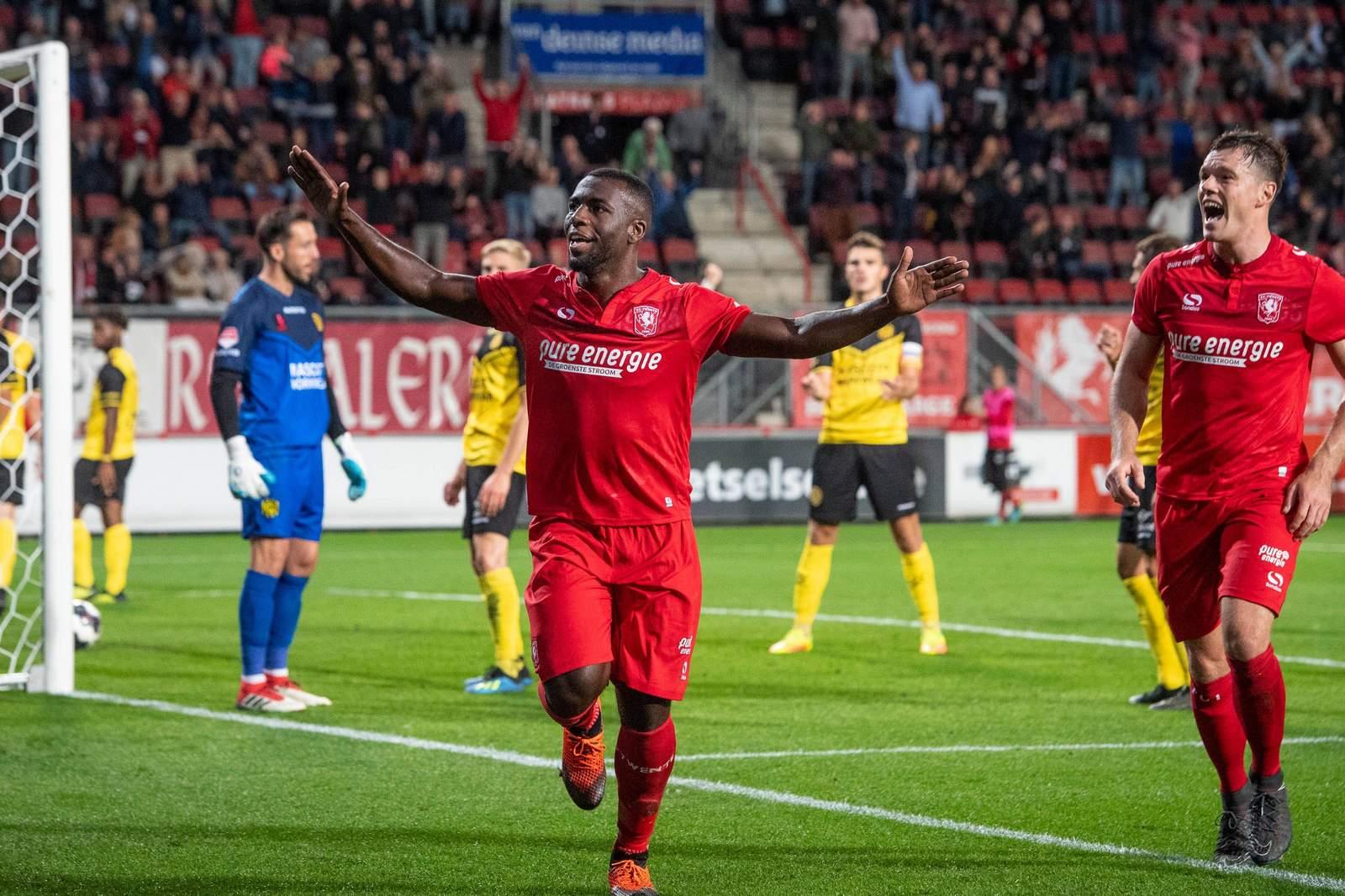 Ulrich Bapoh erzielte für Twente bisher zwei Treffer.