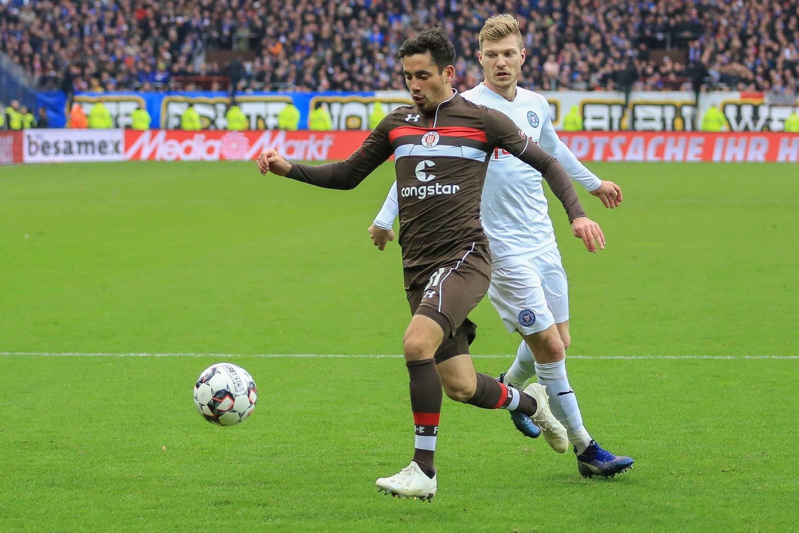 Ersin Zehir im Spiel gegen Holstein Kiel