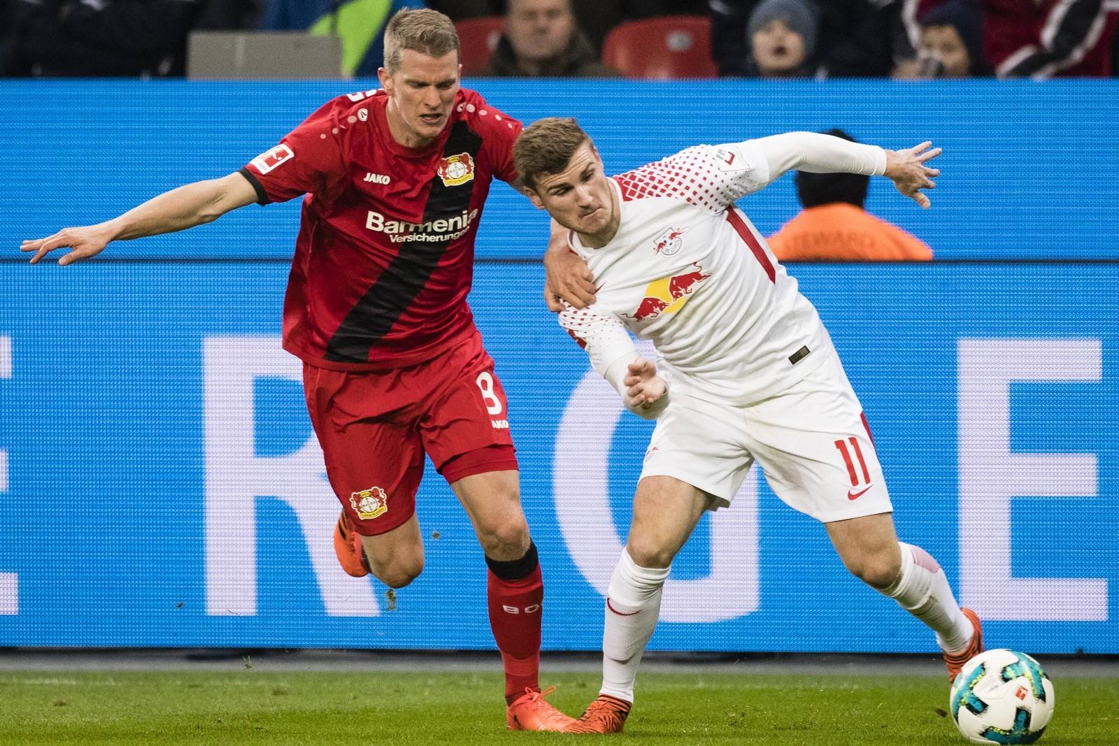 Gelingt Leverkusen nochmal ein Befreiungsschlag gegen Leipzig? Jetzt auf Leipzig gegen Leverkusen wetten!
