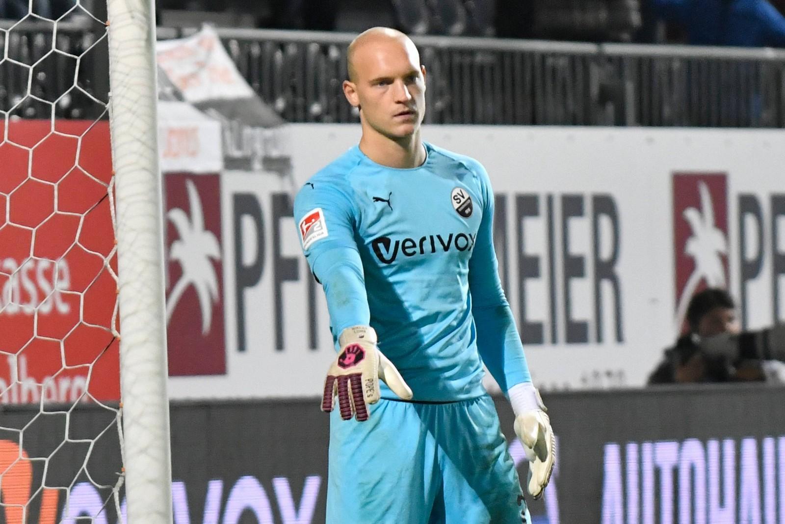 Niklas Lomb vom SV Sandhausen