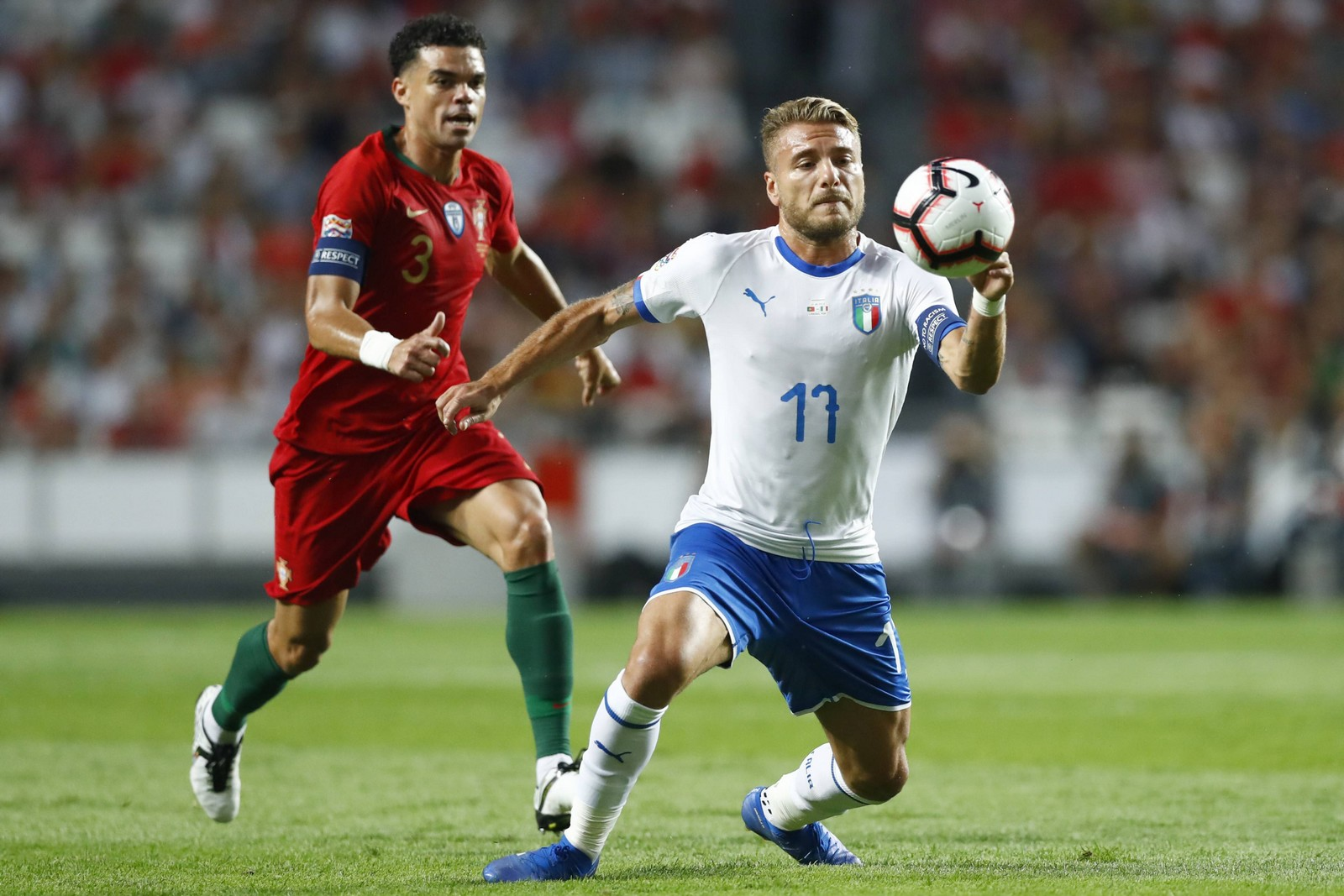 Kann Italien Portugal noch den Rang ablaufen? Jetzt auf Italien gegen Portugal wetten!