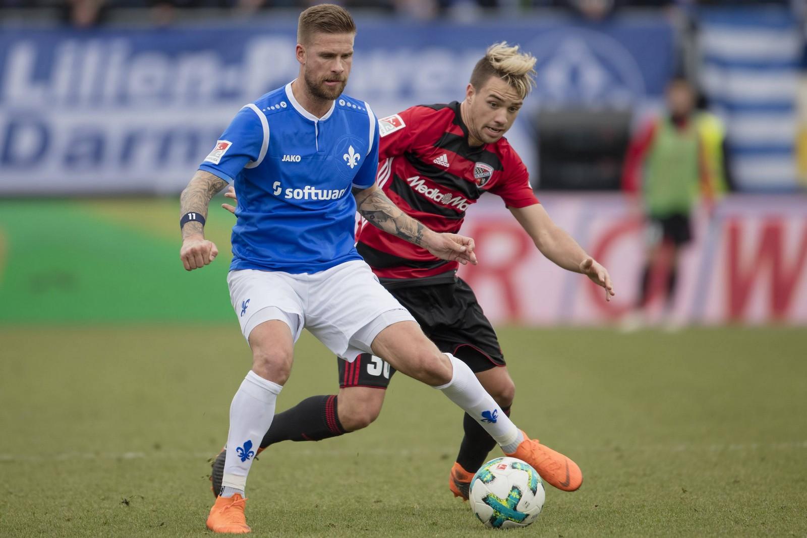 Vermiest Tobias Kempe dem neuen Trainer des FCI den Einstand? Jetzt auf Darmstadt gegen Ingolstadt wetten!