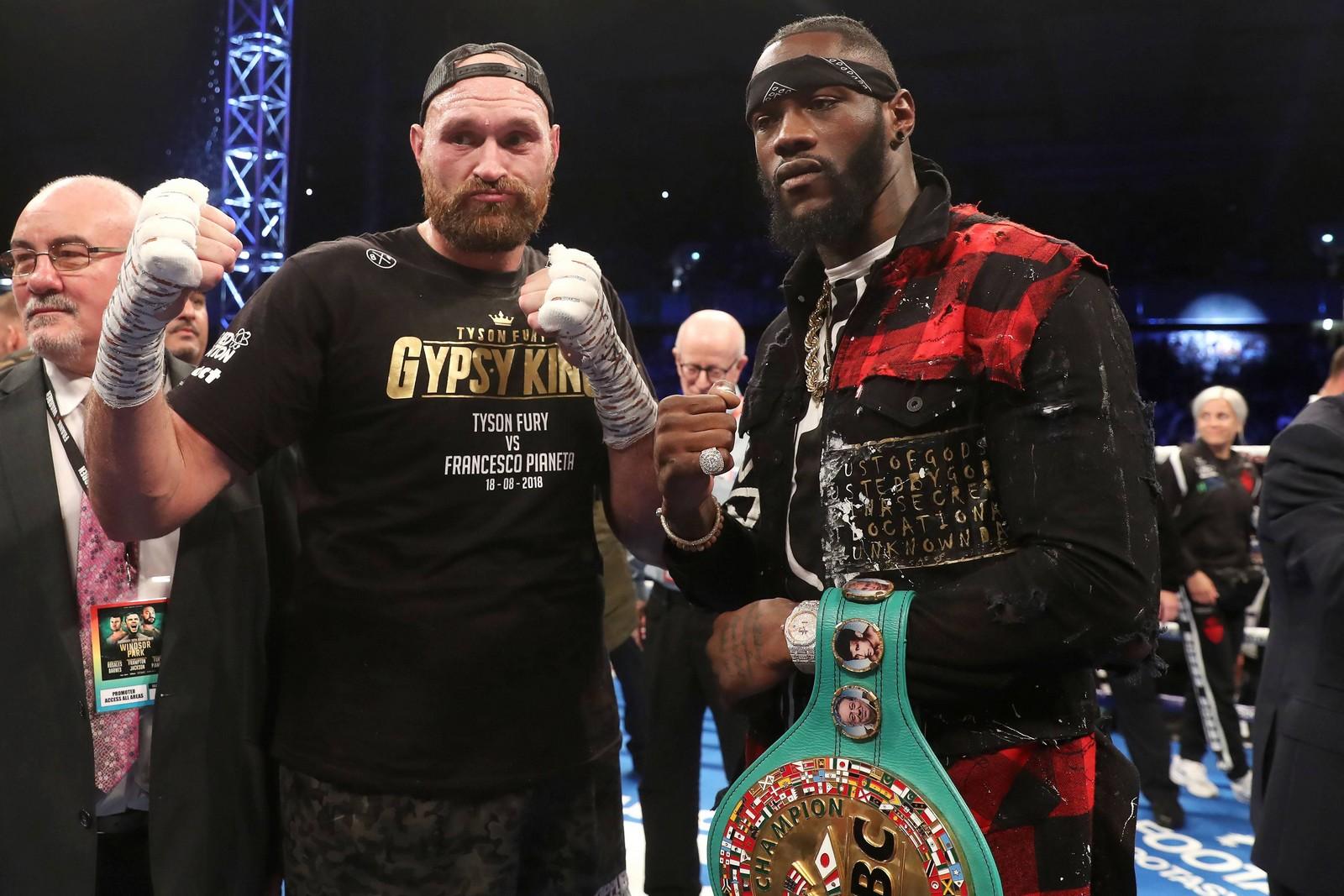 Kann Tyson Fury Deontay Wilder auf die Bretter schicken? Jetzt auf Wilder vs Fury wetten!