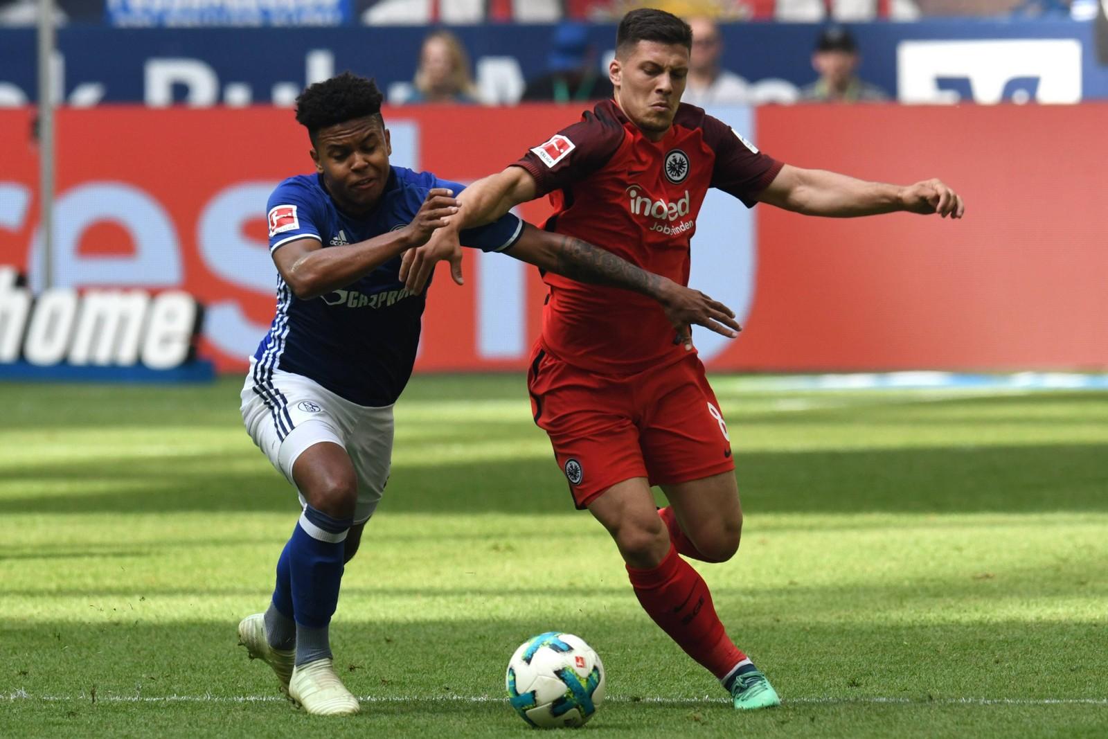 Setzt Luka Jovic seine Erfolgsserie mit der Eintracht fort? Jetzt auf Frankfurt gegen Schalke wetten!