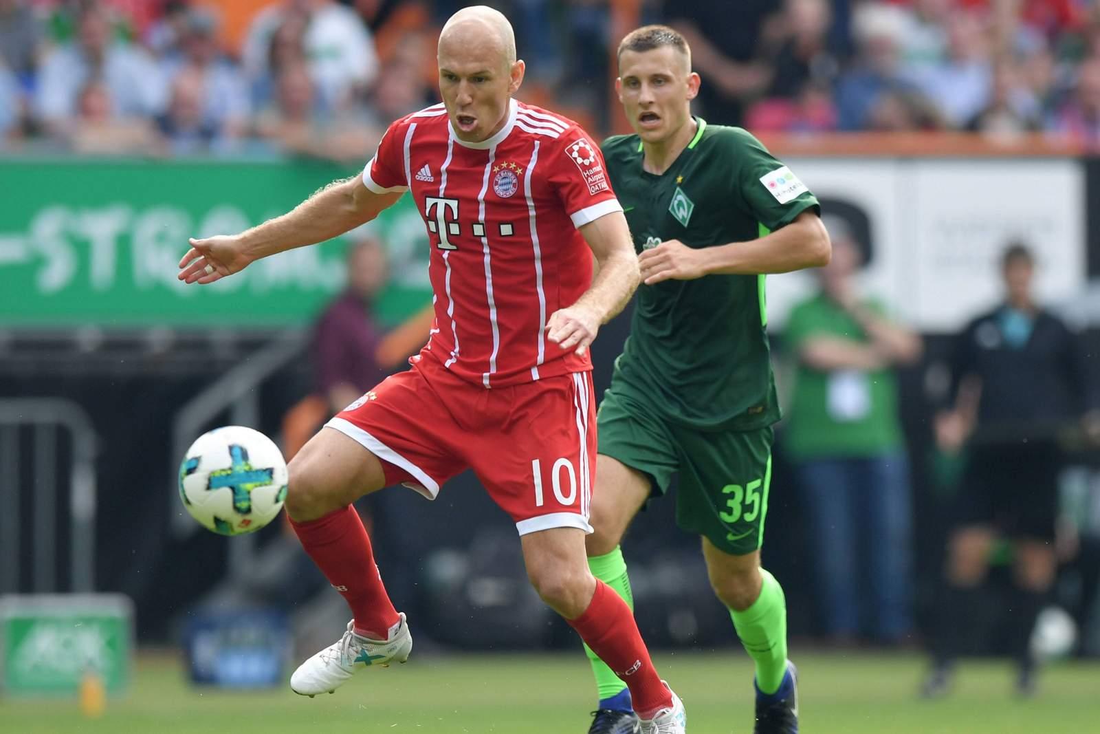 Setzt sich Robben gegen Eggestein durch? Jetzt auf Werder vs Bayern wetten