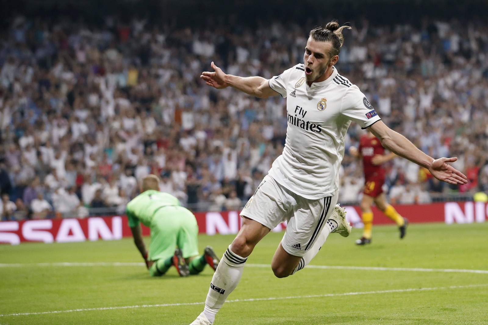 Jubelt Bale wieder? Jetzt auf AS Rom gegen Real Madrid wetten