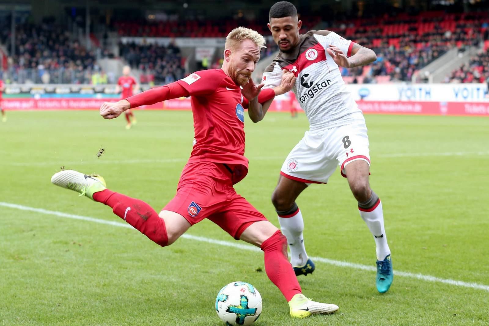 Kommt Marc Schnatterer gegen Jeremy Dudziak zum Abschluss? Jetzt auf Heidenheim gegen Köln wetten.