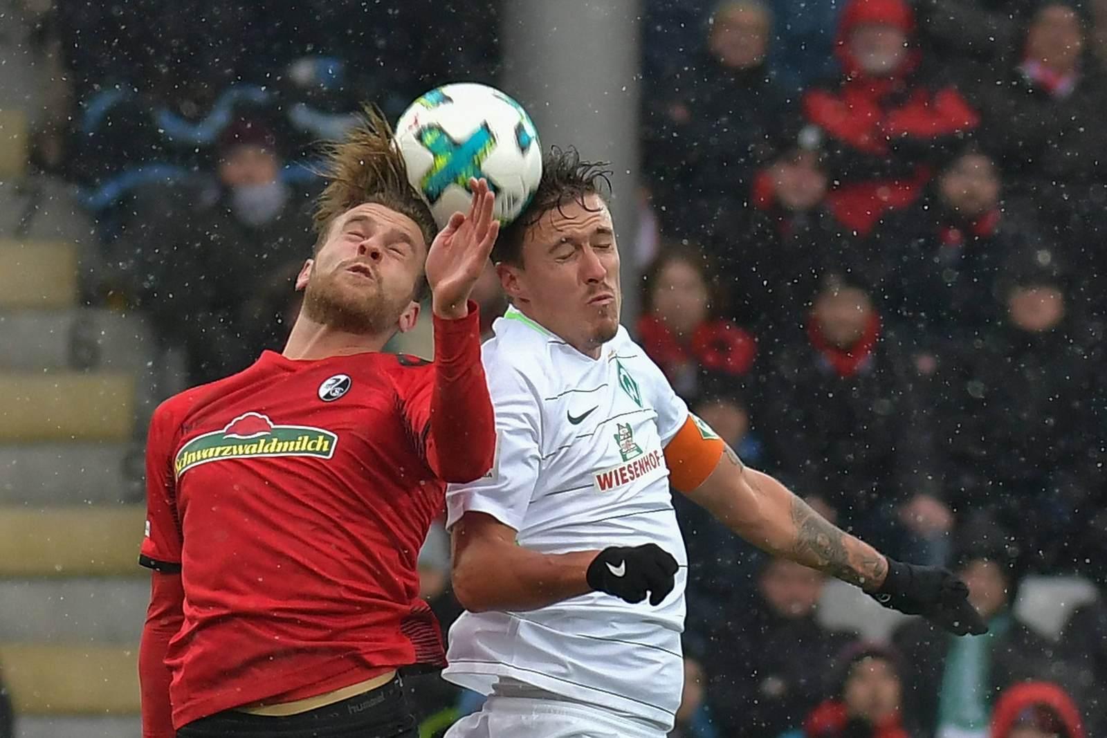 Lucas Höler gegen Max Kruse. Jetzt auf die Partie Freiburg vs Werder Bremen wetten