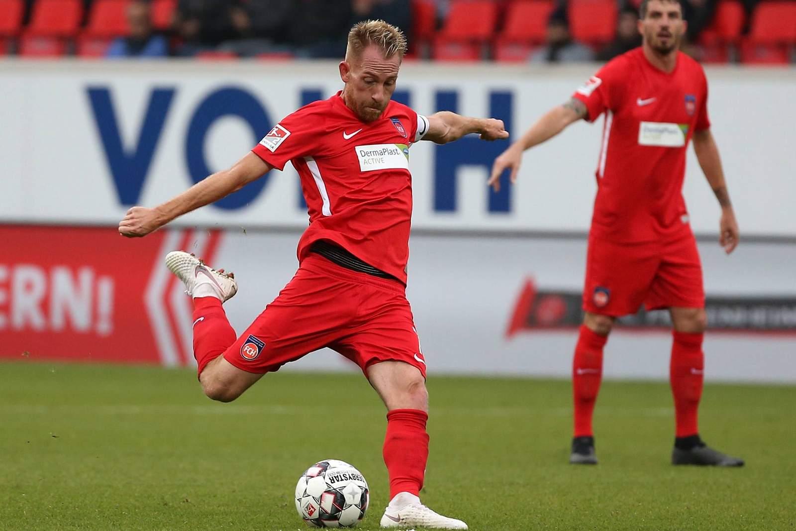 Bringt Marc Schnatterer den Ball im Tor unter? Jetzt auf Heidenheim gegen Paderborn wetten.