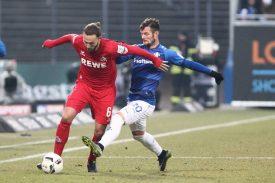 Darmstadt 98 gegen 1. FC Köln
