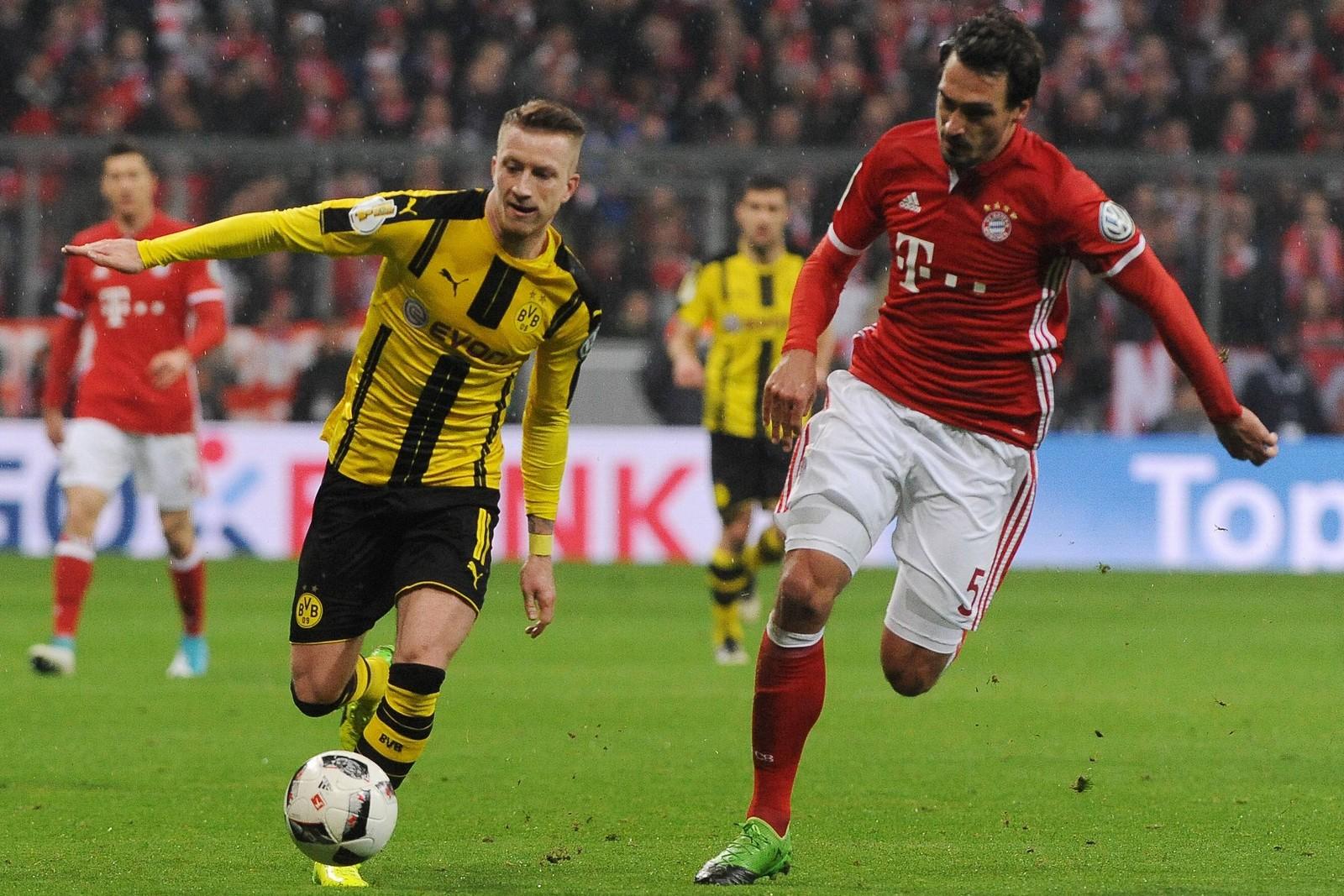 Kann Marco Reus mit dem BVB den Baywern davonziehen? Jetzt auf BVB gegen Bayern wetten!