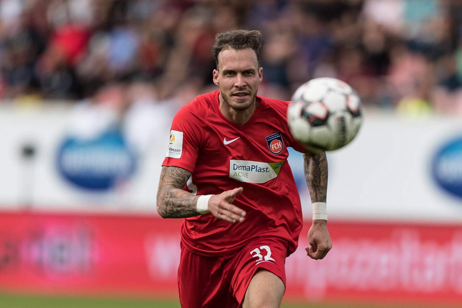 Patrick Schmidt vom 1. FC Heidenheim