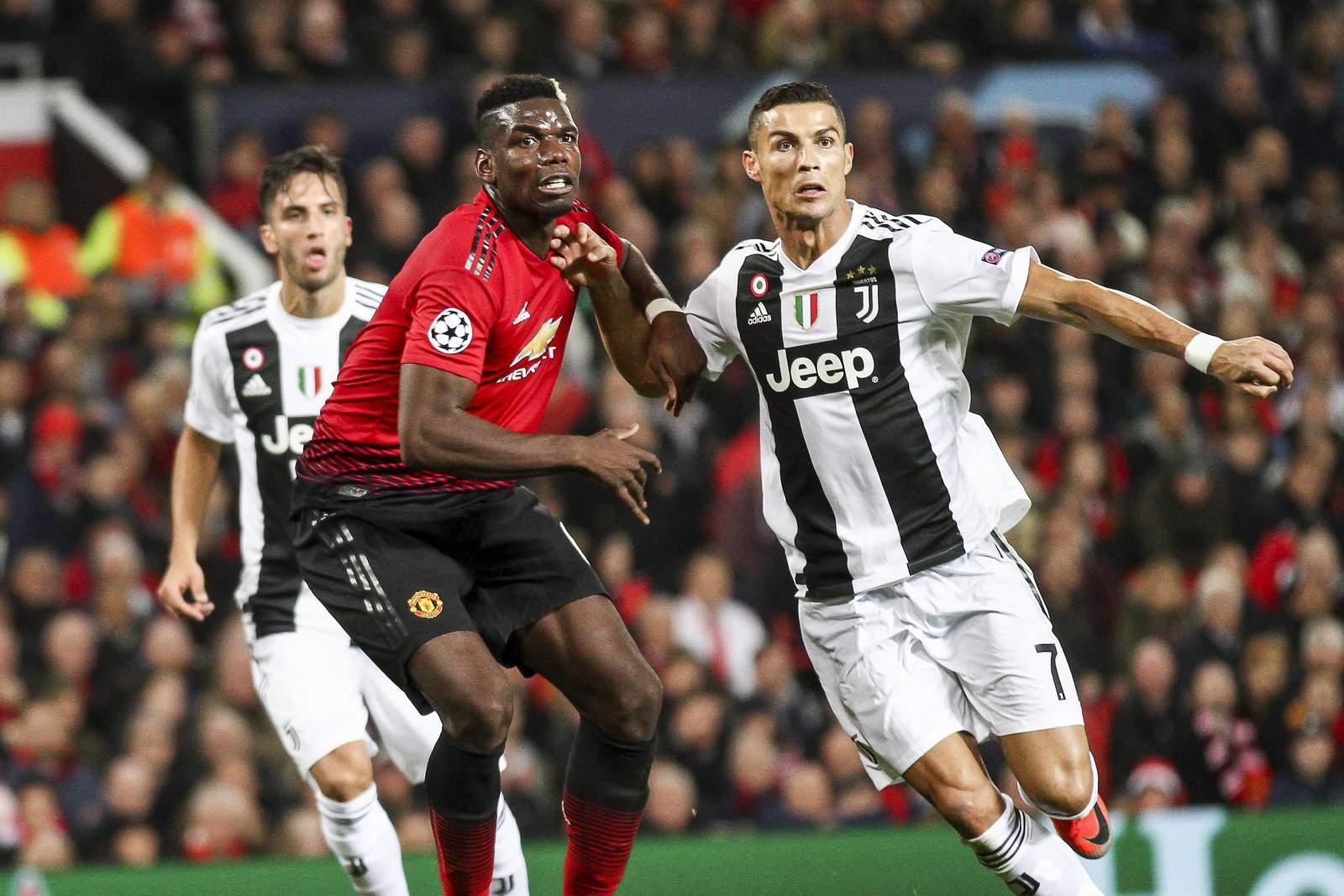 Setzt sich Ronaldo wieder gegen Pogba durch? Jetzt auf Juve vs Man United wetten