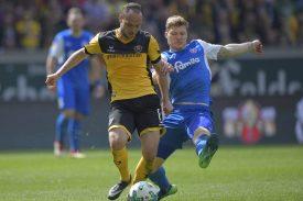 SG Dynamo Dresden gegen Holstein Kiel