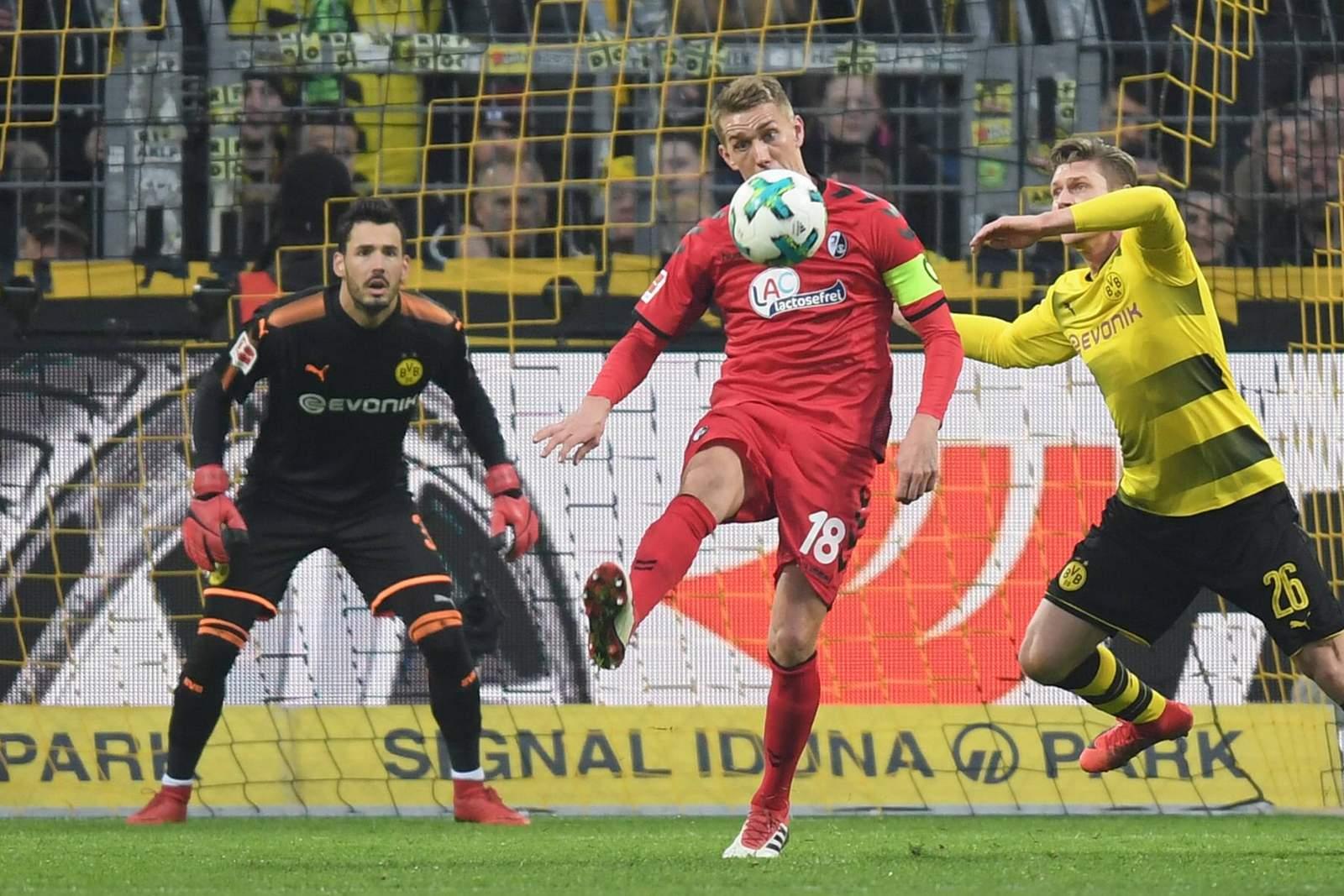 Trifft Petersen gegen Bürki? Jetzt auf BVB gegen Freiburg wetten