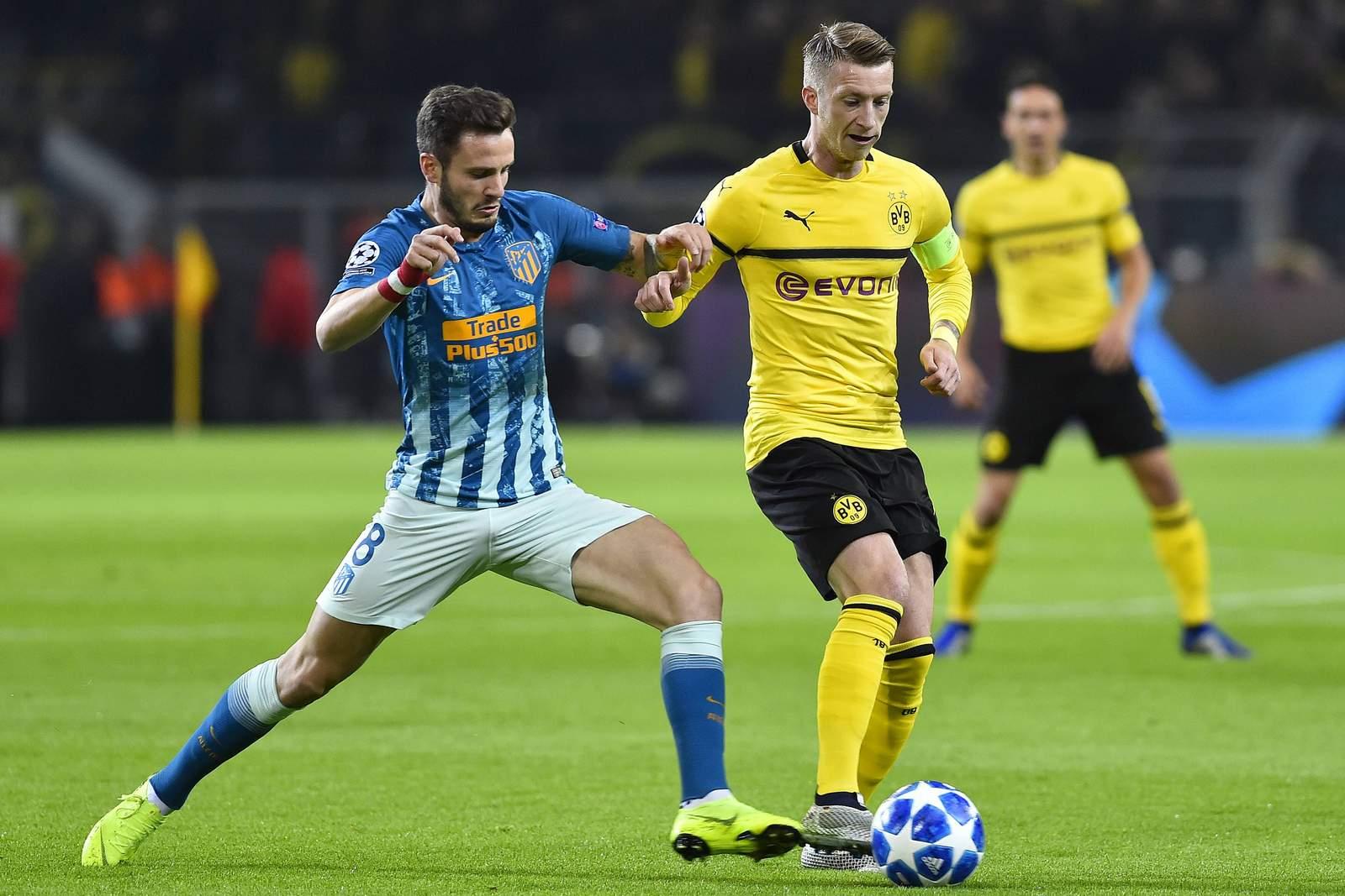 Setzt sich Reus wieder gegen Niguez durch? Jetzt auf Atletico gegen BVB wetten
