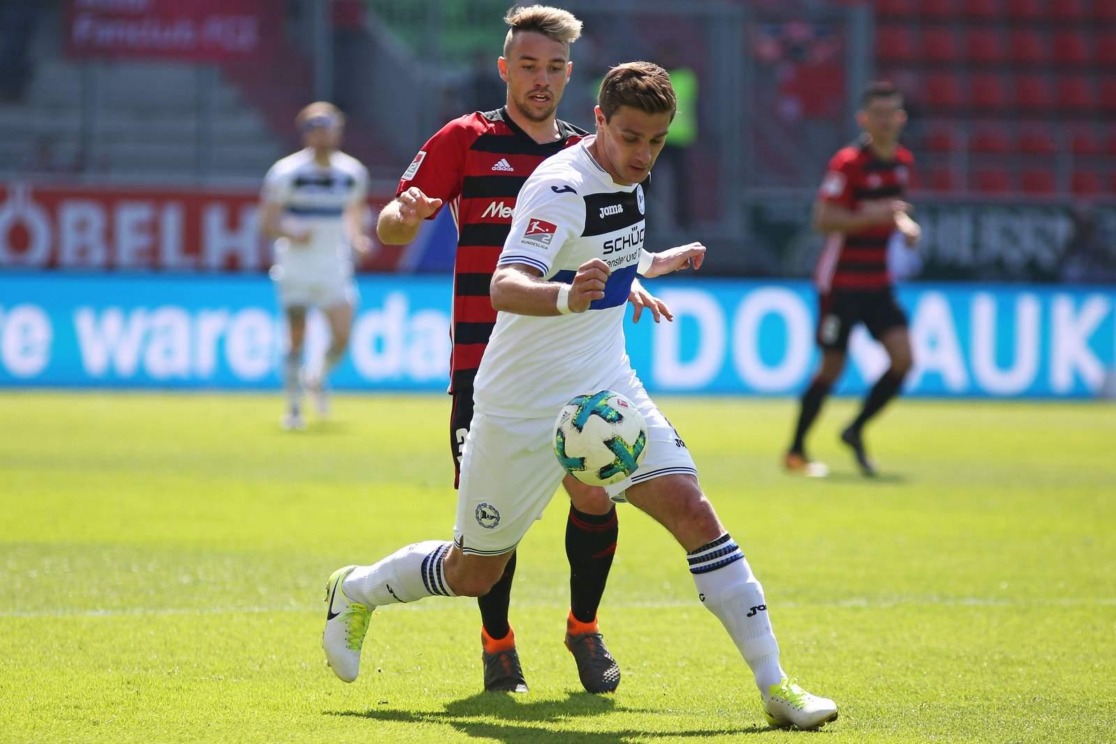 Hat Tom Schütz im Duell mit Thomas Pledl am Ende die Nase vorn? Jetzt auf Ingolstadt gegen Bielefeld wetten.