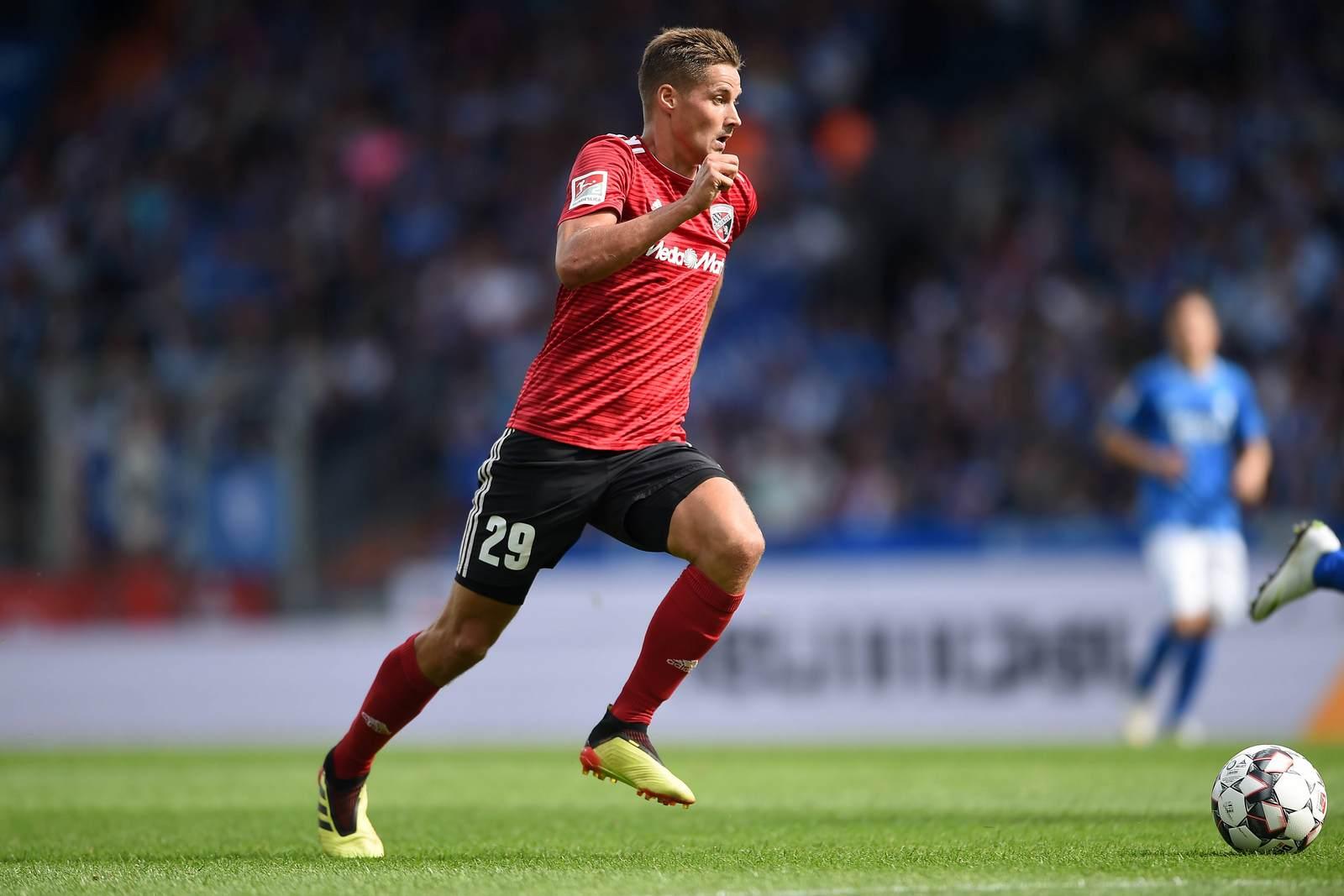 Thorsten Röcher am Ball für den FC Ingolstadt