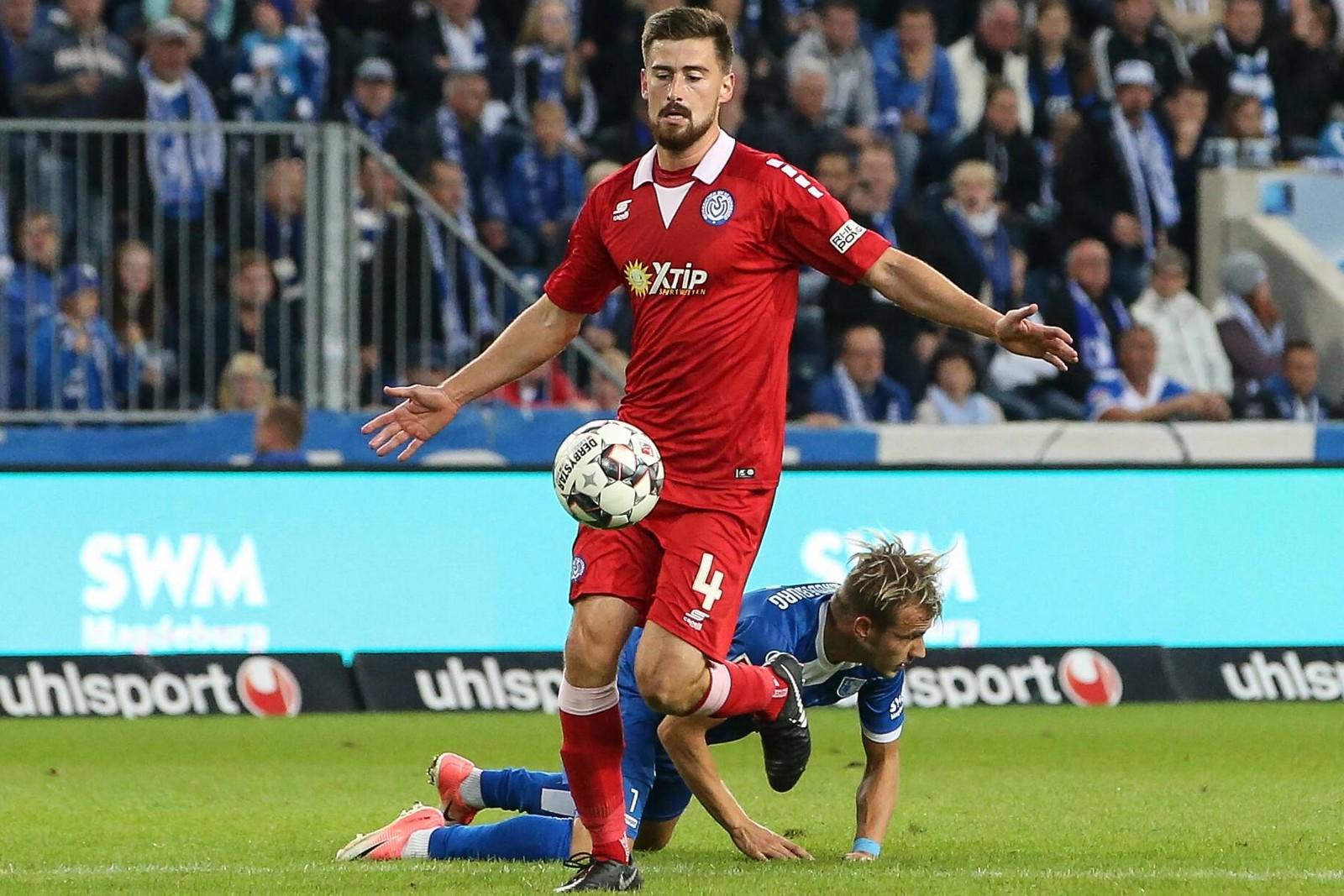 Dustin Bomheuer vom MSV Duisburg