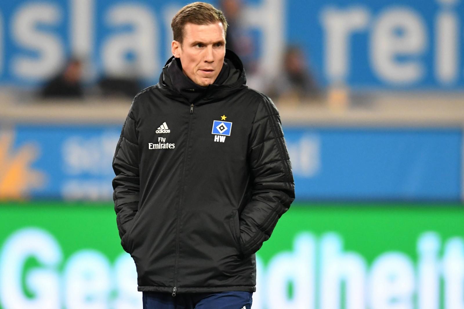 Hannes Wolf vom HSV