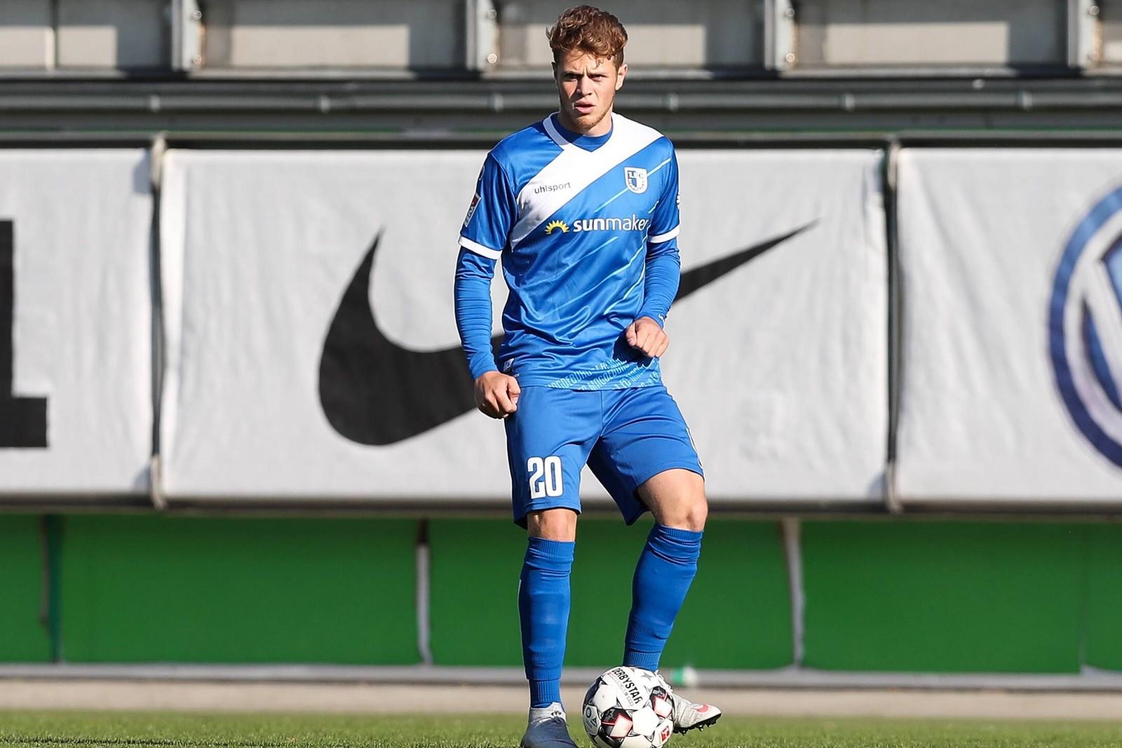 Joel Abu Hanna vom 1. FC Magdeburg