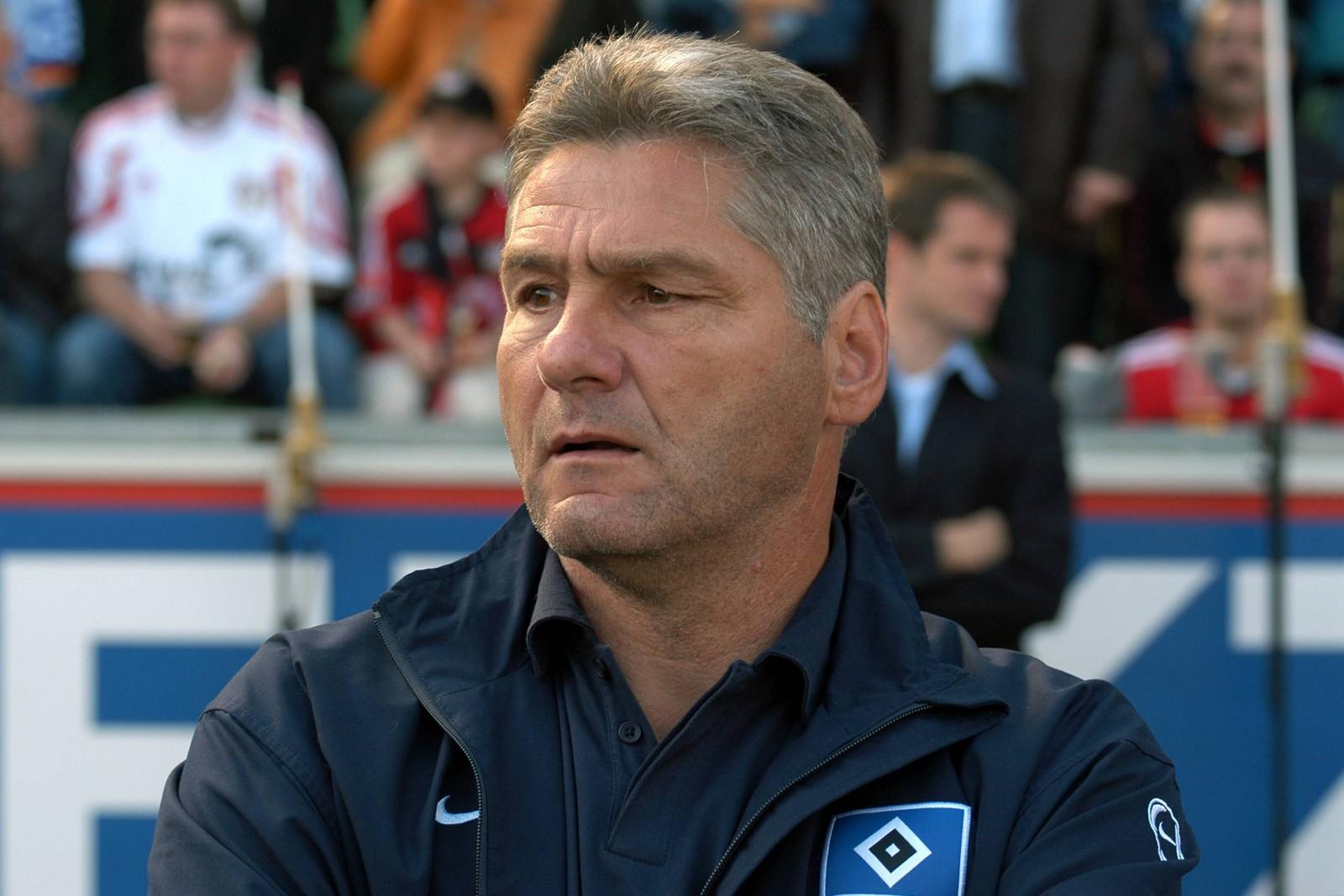 Kurt Jara war von 2001 bis 2003 Trainer des HSV