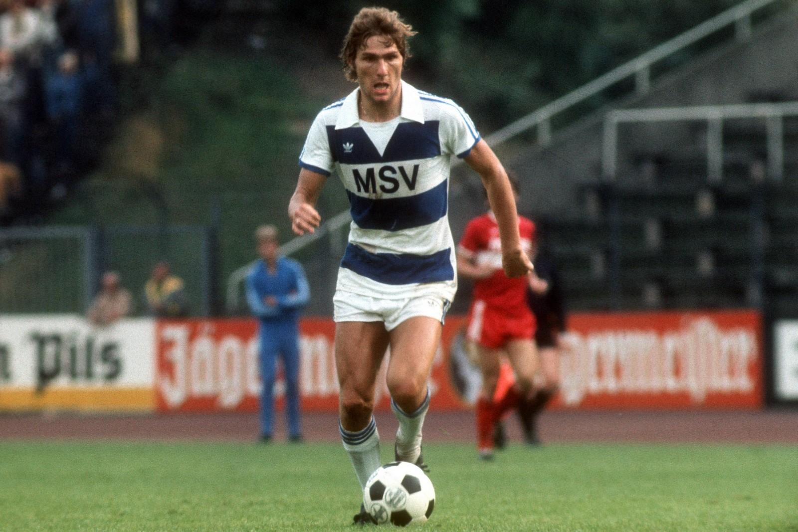 Kurt Jara als Spieler des MSV Duisburg