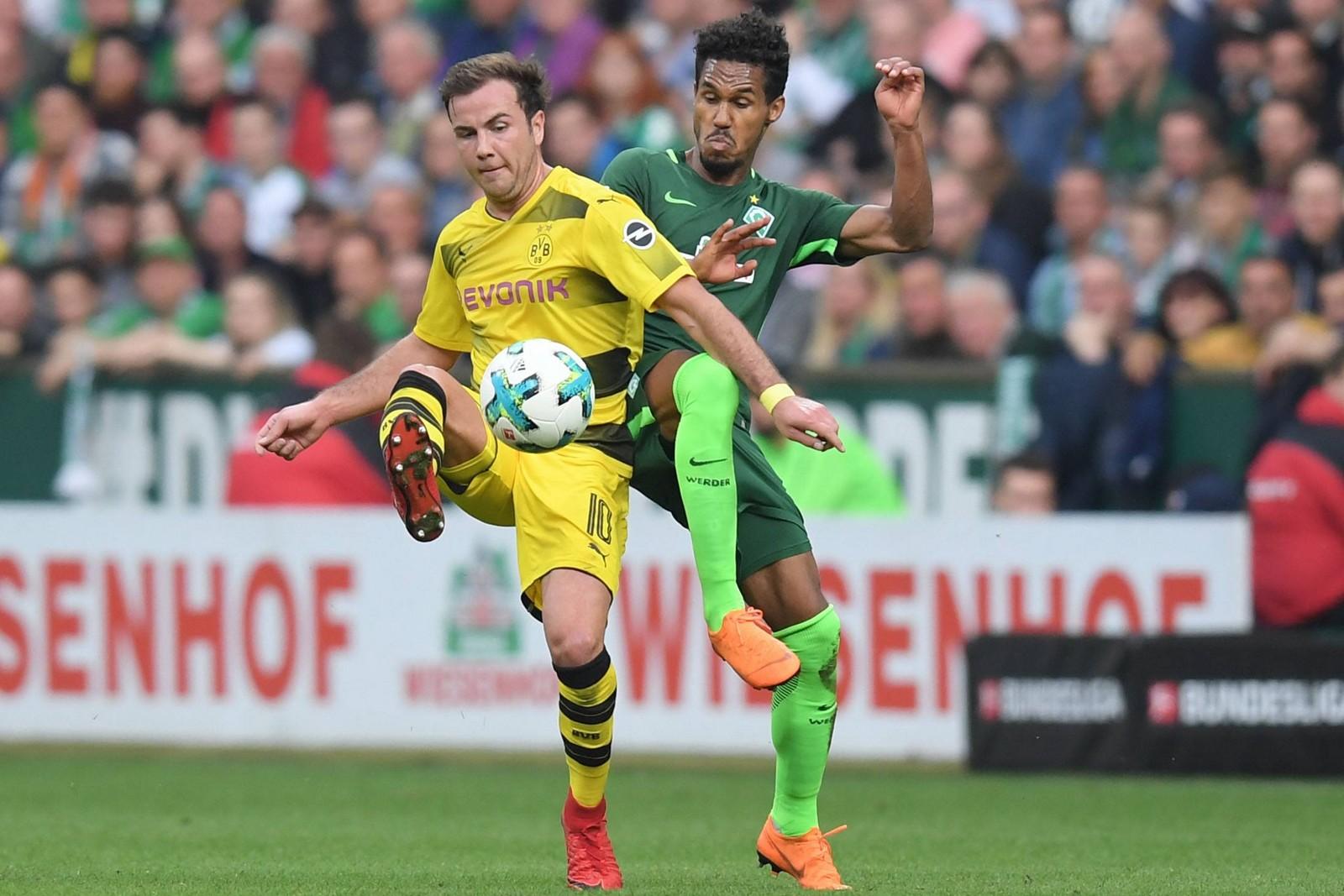 Schlägt Mario Götze mit dem BVB auch Werder? Jetzt auf Dortmund gegen Bremen wetten!