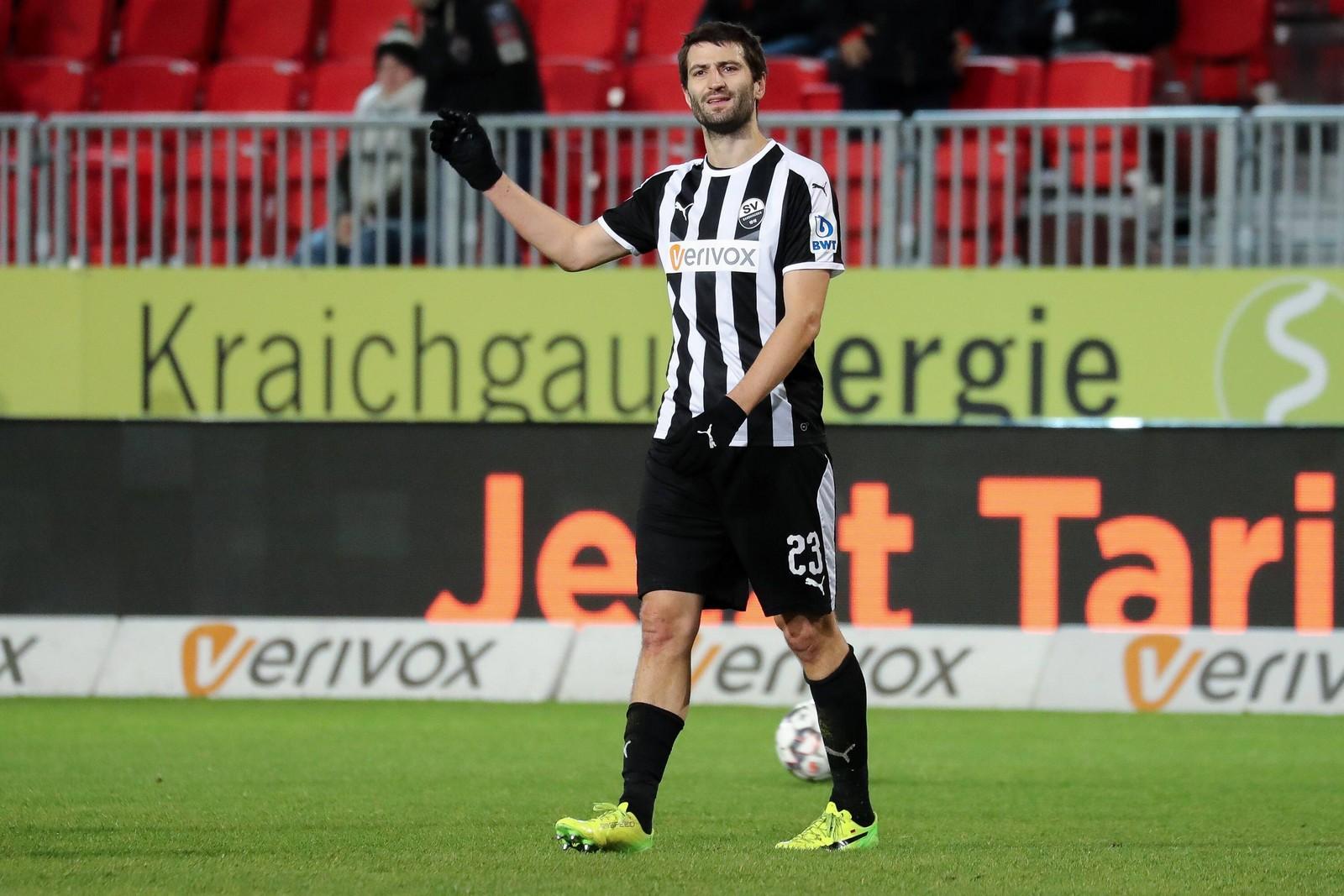 Markus Karl vom SV Sandhausen