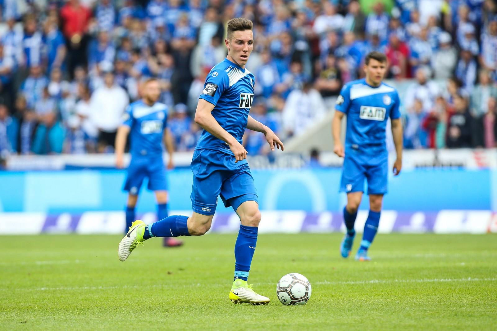 Florian Kath im Spiel gegen die Sportfreunde Lotte.