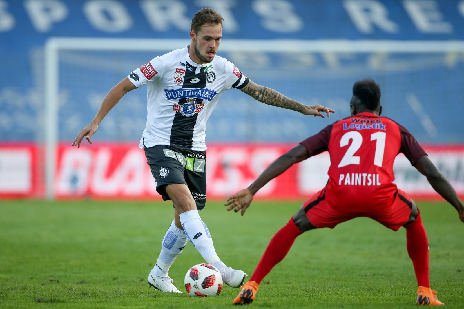 Lukas Spendlhofer verpasste in Graz bislang keine einzige Pflichtspiel-Minute.
