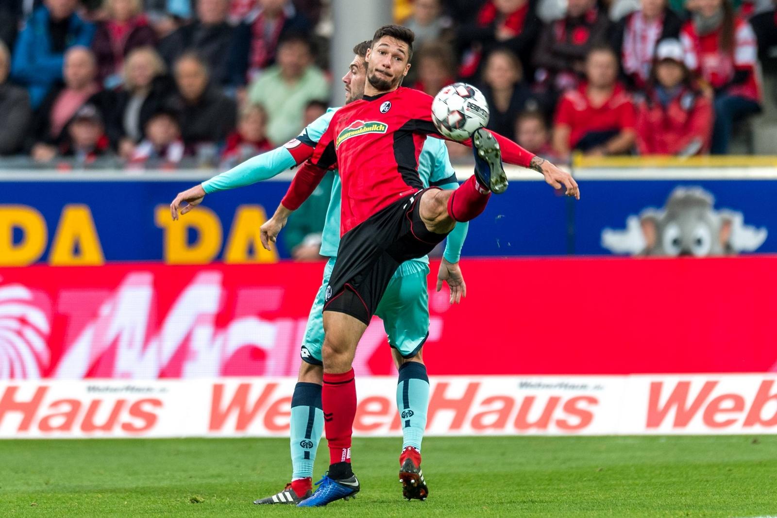 Tim Kleindienst im Spiel gegen den FSV Mainz 05