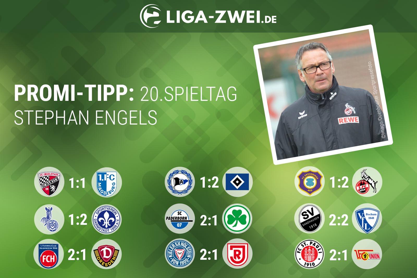 Stephan Engels beim Liga-Zwei.de Promi-Tipp