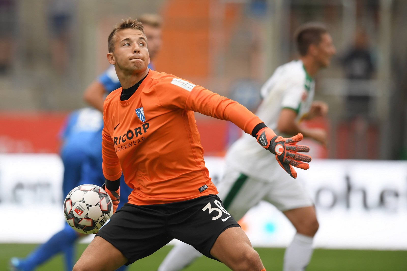 Florian Kraft im Trikot des VfL Bochum