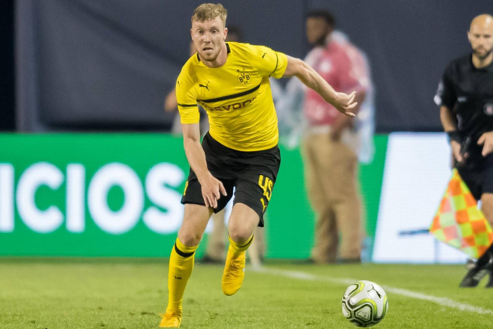 Sören Dieckmann als Spieler der BVB U23